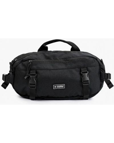Черная сумка осенняя Converse