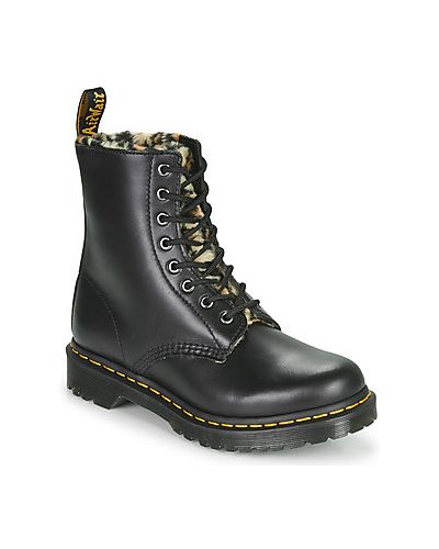 Puchaty czarny buty Dr. Martens