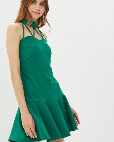 Вечернее платье зеленый Ribbon