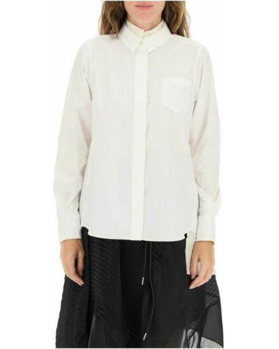 Biała koszula Sacai