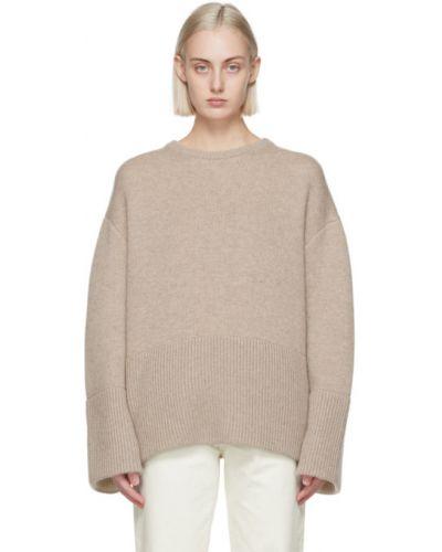 Długi sweter, beżowy Toteme
