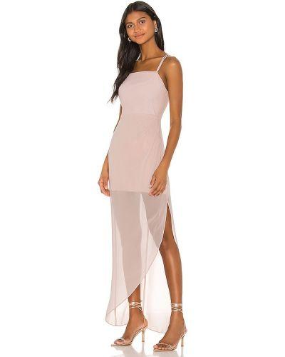 Шифоновое вечернее платье - розовое Bcbgeneration