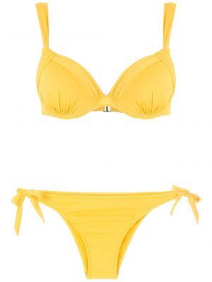 Желтый купальник с завязками Amir Slama
