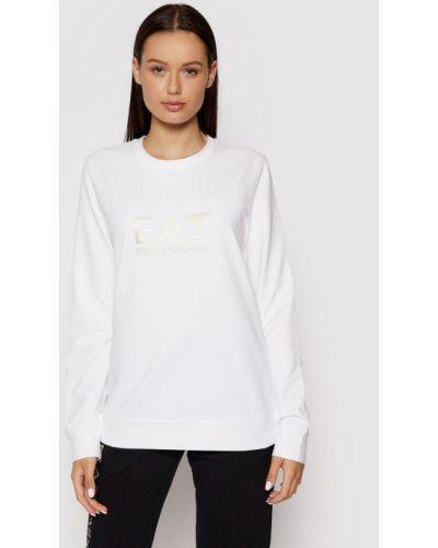 Biała bluza Ea7 Emporio Armani