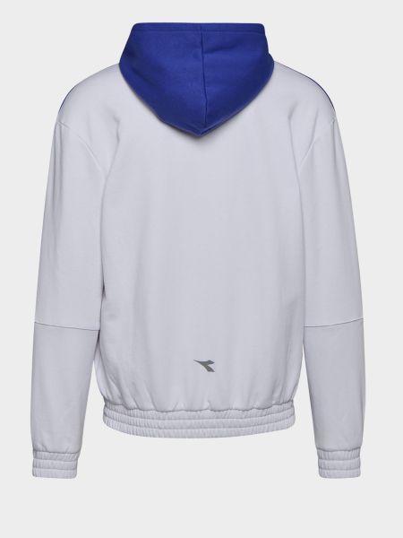 Куртка с капюшоном - белая Diadora