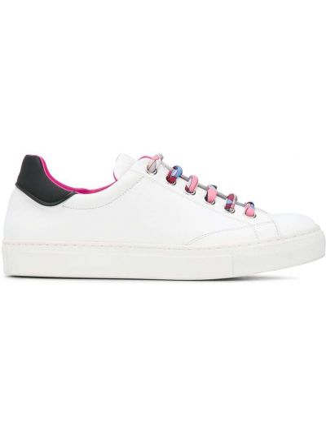 Ażurowy skórzany sneakersy Emilio Pucci