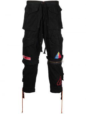 Черные брюки с карманами Greg Lauren