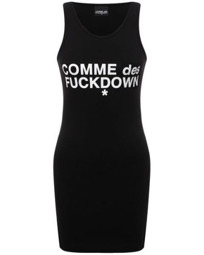 Хлопковое платье Comme Des Fuckdown