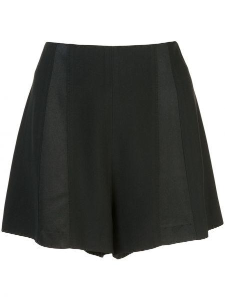 Однобортные черные шорты Kiki De Montparnasse