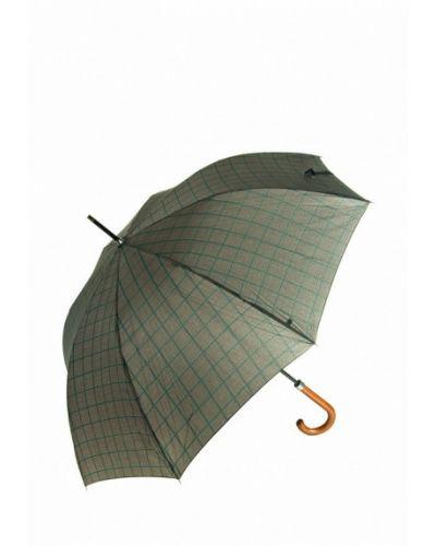 Зонт зонт-трости коричневый C-collection