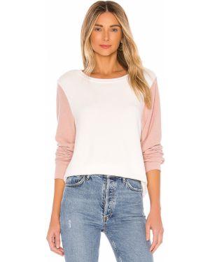 Sweter bawełniany - biały Wildfox Couture
