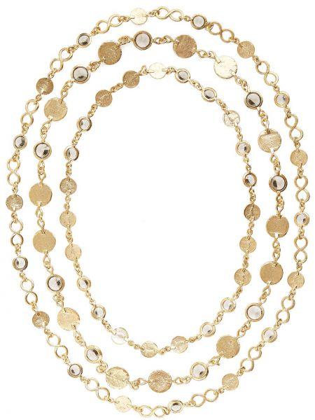 Серое ожерелье Oscar De La Renta