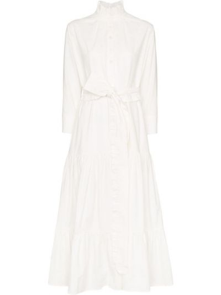 Плиссированное платье миди Evi Grintela