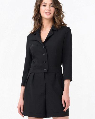 Комбинезон с шортами черный Ricamare