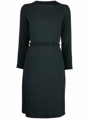 Зеленое платье макси длинное Antonelli