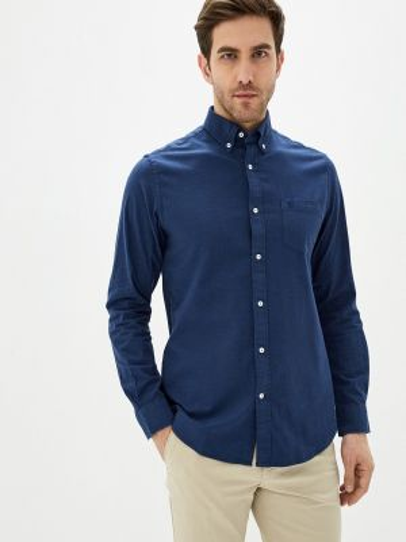 Синяя рубашка Cortefiel