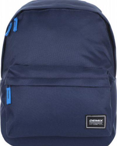 Спортивный синий рюкзак для ноутбука Demix