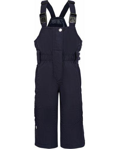 Синие утепленные брюки Poivre Blanc