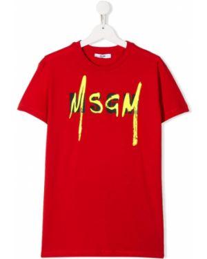 Рубашка на шею Msgm Kids
