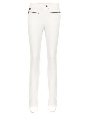 Białe legginsy z wiskozy Erin Snow