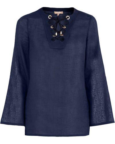 Блузка легкая с вырезом Michael Kors