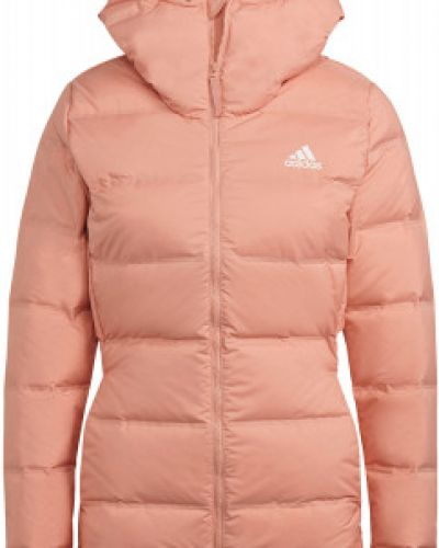 Спортивный пуховик - оранжевый Adidas
