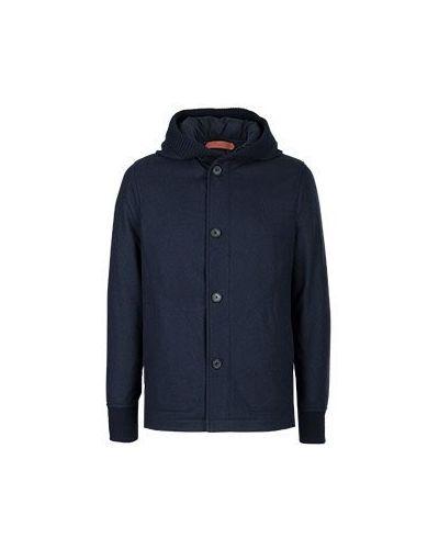 Зимняя куртка синяя Cortigiani