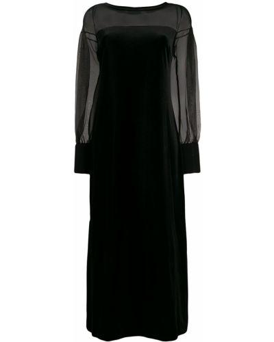 Прямое приталенное платье макси D.exterior