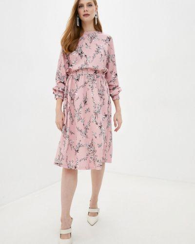 Прямое розовое платье Incity