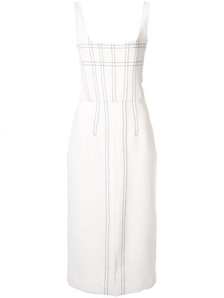 Платье миди на молнии с рукавами Dion Lee
