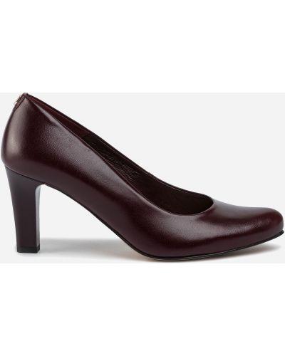 Туфли - бордовые Lasocki