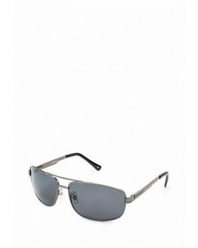 Солнцезащитные очки серебряного цвета Polaroid
