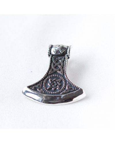 Серебряная подвеска с подвесками на шнурках Rozetka