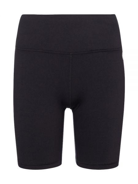 Черные спортивные шорты для бега для йоги Tory Sport
