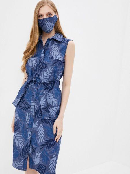 Платье - синее Krismarin