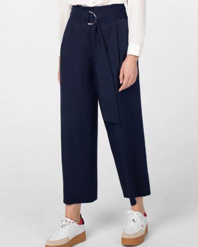 Прямые синие брюки Pompa