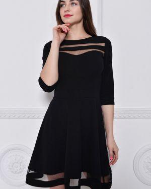 Вечернее платье деловое сетчатое Nikol