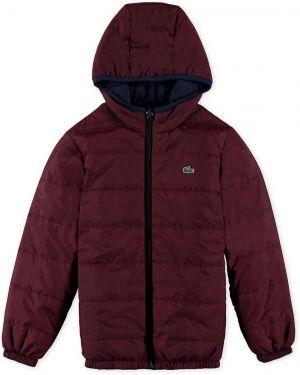 Куртка бордовый Lacoste