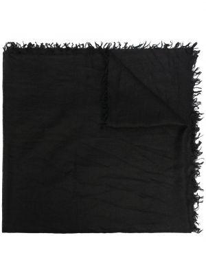 Czarny z kaszmiru szalik Zadig&voltaire