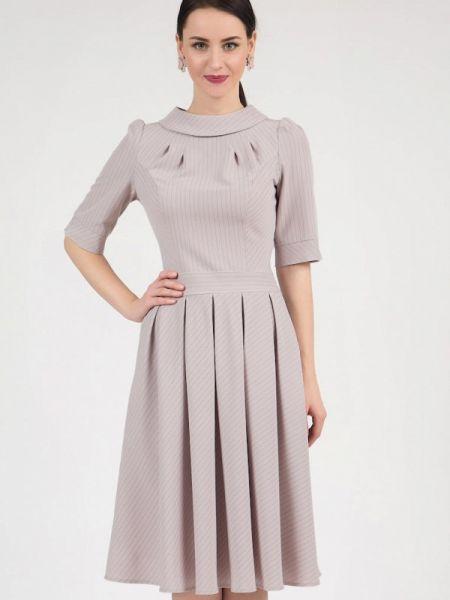 Повседневное платье серое осеннее Grey Cat