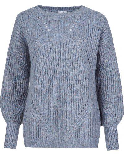 Шерстяной свитер - голубой Sfizio