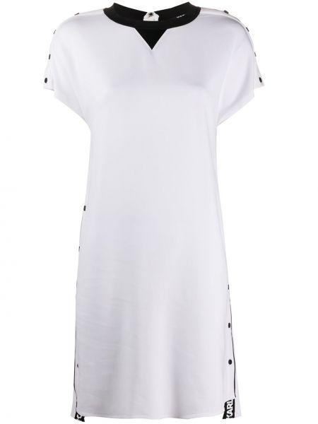 Платье мини на молнии с рукавами Karl Lagerfeld