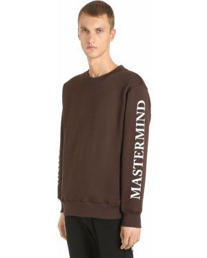 Prążkowana brązowa bluza Mastermind World