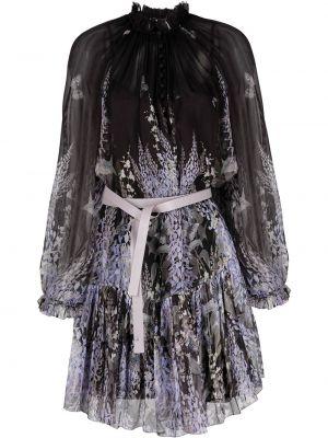 Кожаное платье - черное Zimmermann