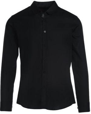 Czarna koszula materiałowa Multu