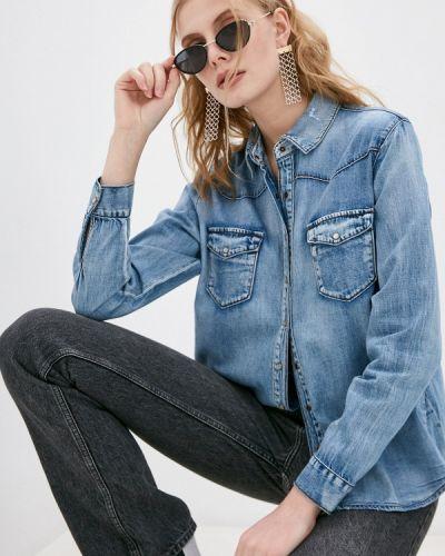 Синяя джинсовая рубашка One Teaspoon