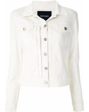 Пиджак длинный - белый Tufi Duek