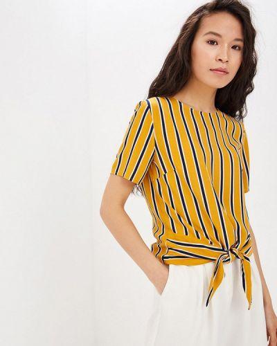 Блузка с коротким рукавом желтый весенний Vittoria Vicci