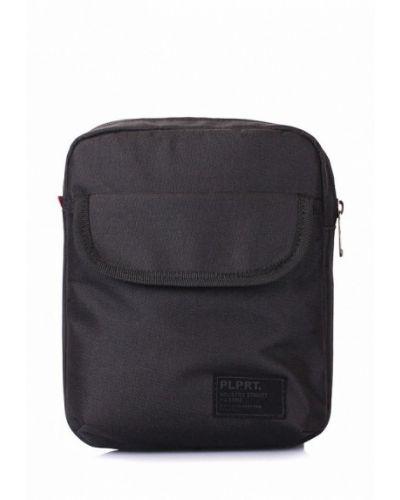 Черная сумка через плечо Poolparty