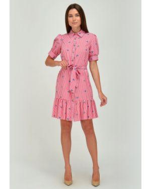 Платье с поясом на пуговицах платье-сарафан Viserdi